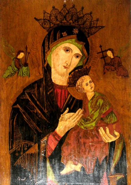 W.K.J. Waterloo painting, Madonna with Child